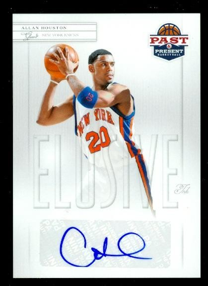 2011-12 Panini Past and Present Elusive Ink Autographs #AH Allan Houston
