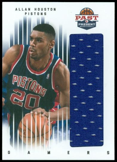 2011-12 Panini Past and Present Gamers Jerseys #3 Allan Houston