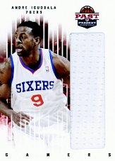 2011-12 Panini Past and Present Gamers Jerseys #7 Andre Iguodala