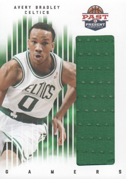 2011-12 Panini Past and Present Gamers Jerseys #8 Avery Bradley