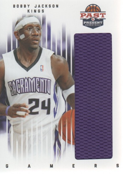 2011-12 Panini Past and Present Gamers Jerseys #14 Bobby Jackson