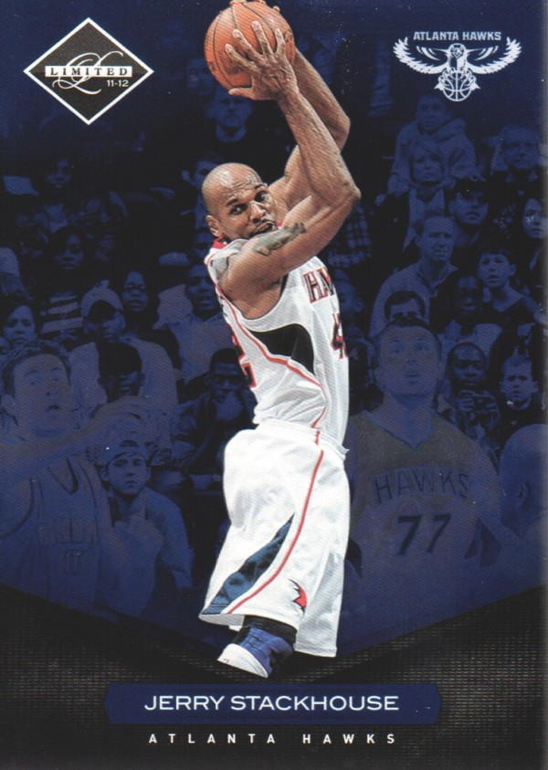 2011-12 Limited #66 Jerry Stackhouse