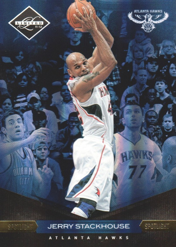 2011-12 Limited Gold Spotlight #66 Jerry Stackhouse