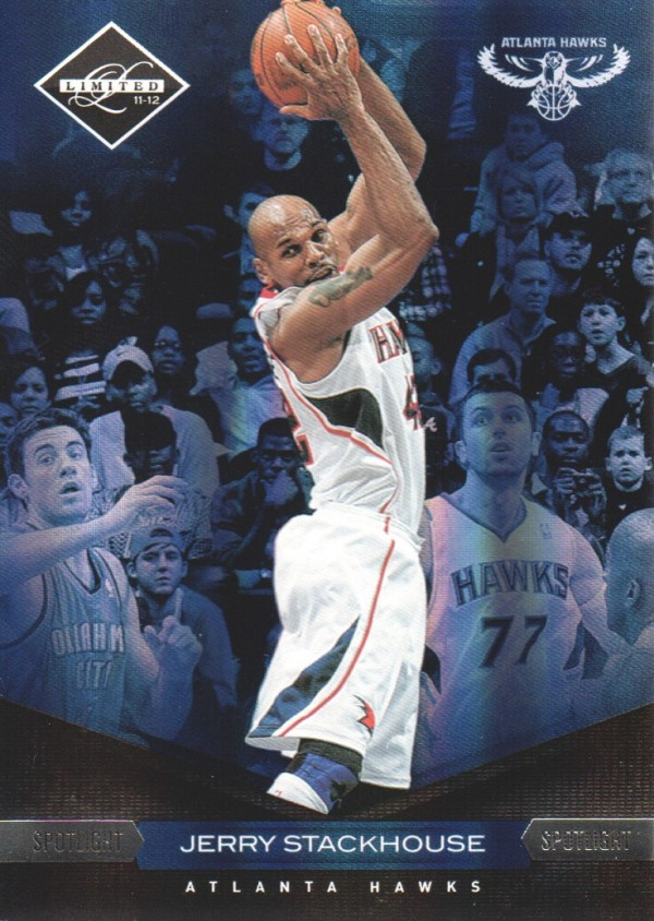 2011-12 Limited Silver Spotlight #66 Jerry Stackhouse