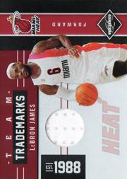 2011-12 Limited Team Trademarks Materials #15 LeBron James/99