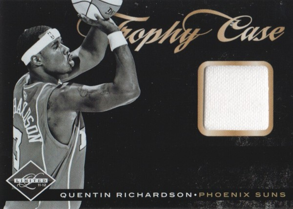 2011-12 Limited Trophy Case Materials #42 Quentin Richardson/99