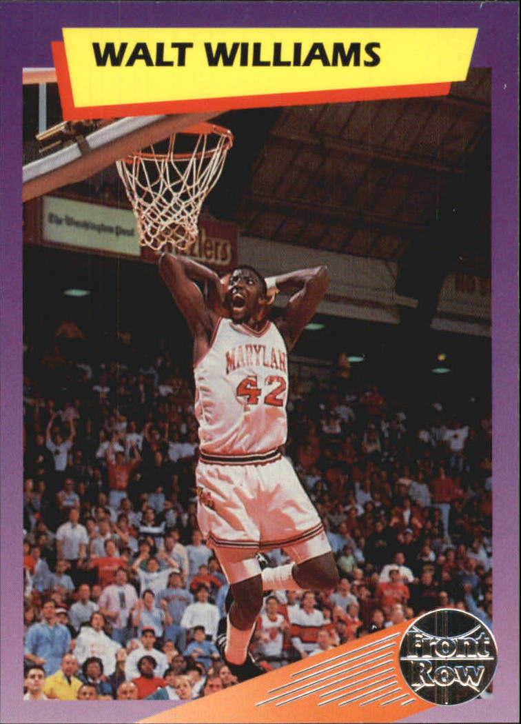 1992 Front Row Dream Picks Silver #77 Walt Williams/Career Highlights