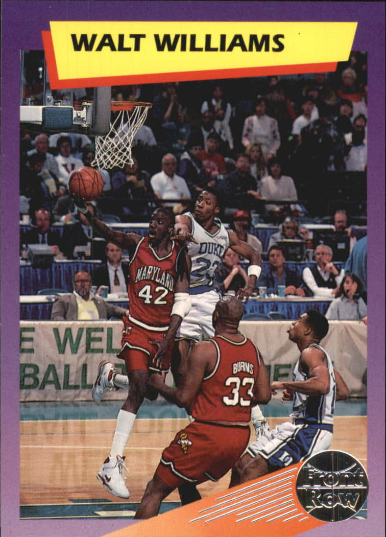 1992 Front Row Dream Picks Silver #79 Walt Williams/Nation's Longest Streaks