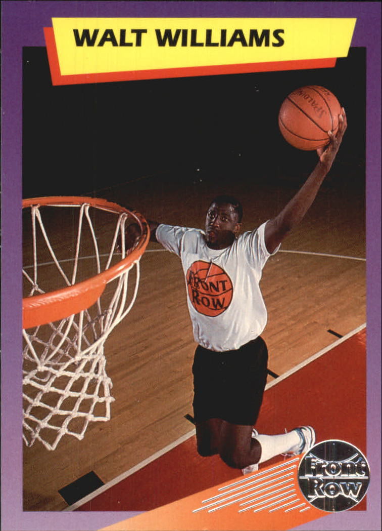 1992 Front Row Dream Picks Silver #80 Walt Williams