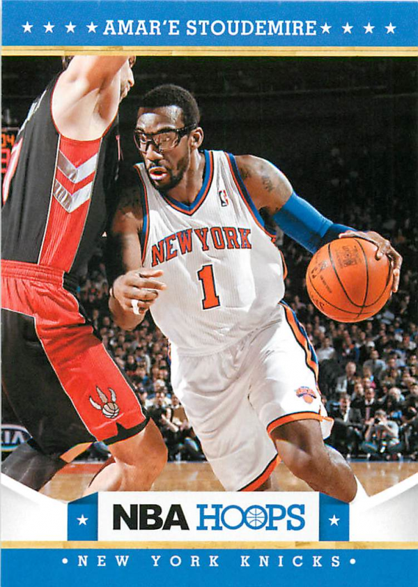 2012-13 Hoops #15 Amare Stoudemire