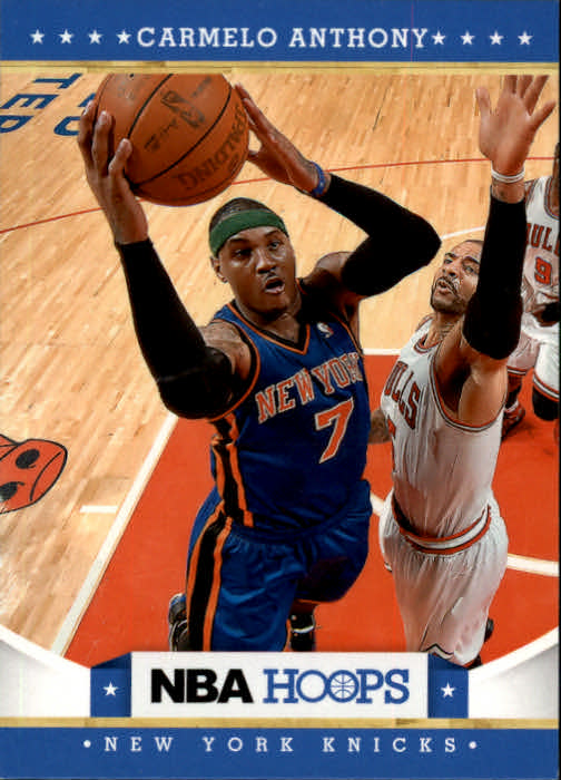 2012-13 Hoops #16 Carmelo Anthony