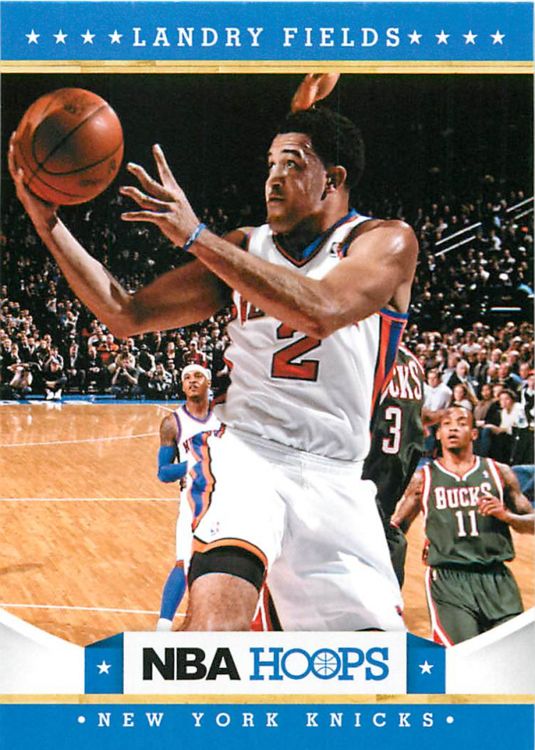 2012-13 Hoops #17 Landry Fields