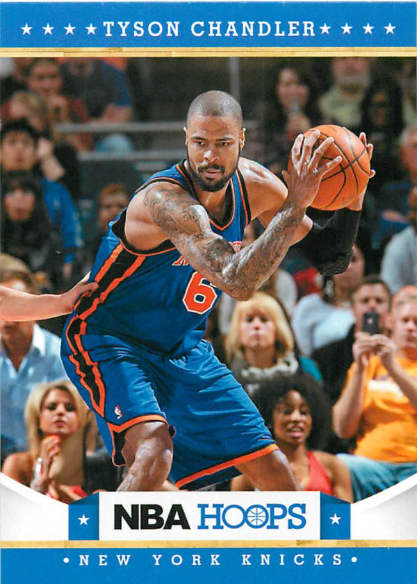 2012-13 Hoops #18 Tyson Chandler
