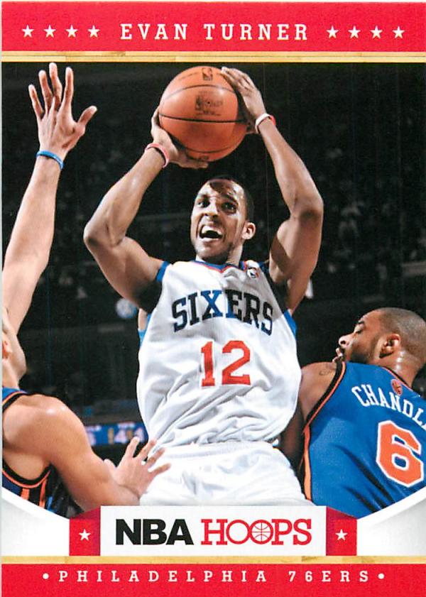 2012-13 Hoops #27 Evan Turner