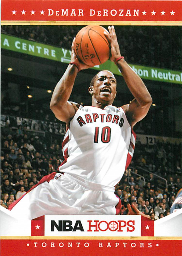2012-13 Hoops #31 DeMar DeRozan