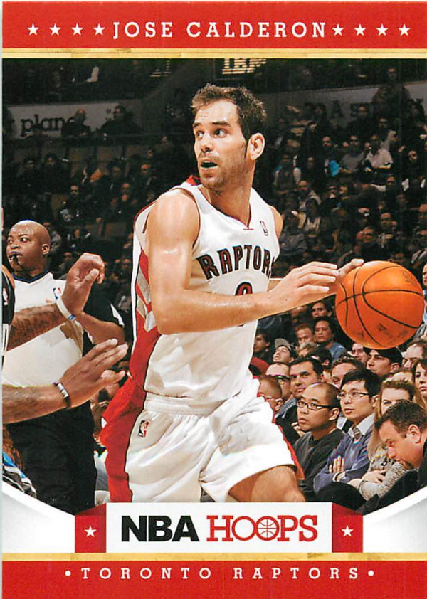 2012-13 Hoops #33 Jose Calderon