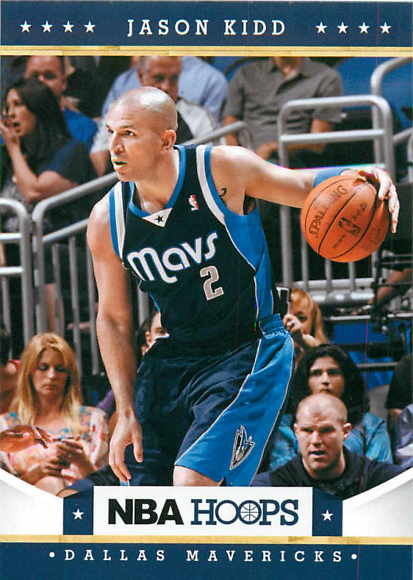 2012-13 Hoops #40 Jason Kidd