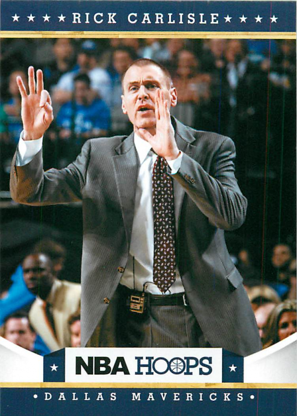 2012-13 Hoops #44 Rick Carlisle CO