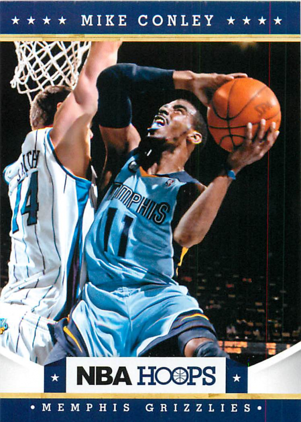 2012-13 Hoops #53 Mike Conley