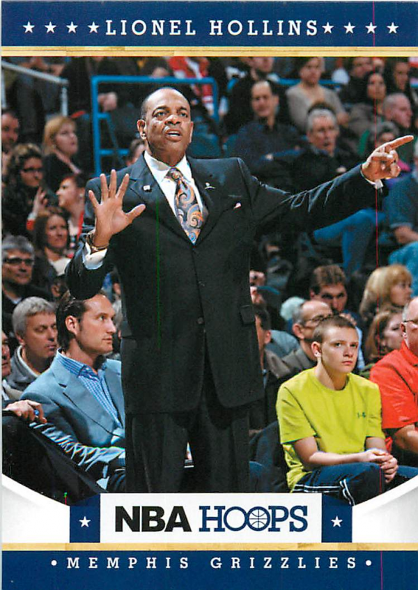 2012-13 Hoops #59 Lionel Hollins CO