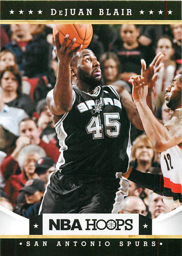 2012-13 Hoops #67 DeJuan Blair
