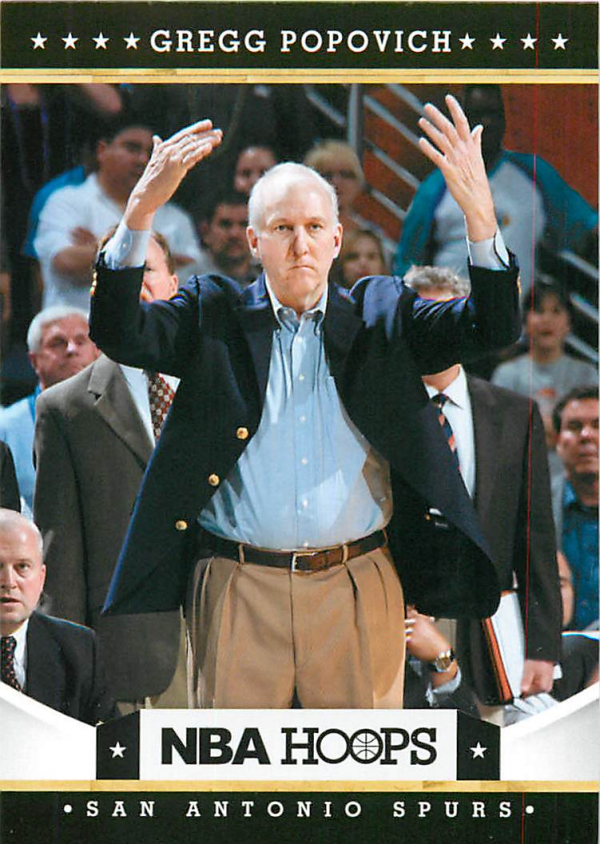 2012-13 Hoops #73 Gregg Popovich CO