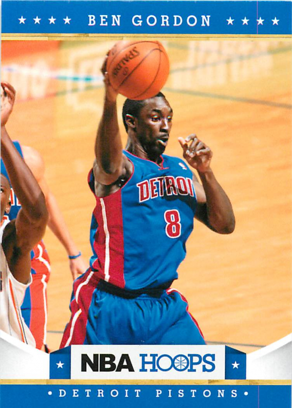 2012-13 Hoops #87 Ben Gordon
