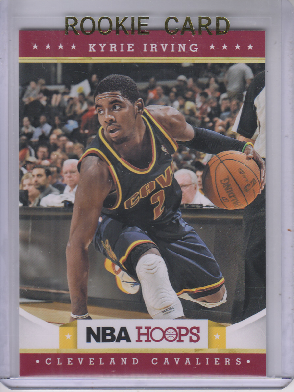 2012-13 Hoops #223 Kyrie Irving RC front image