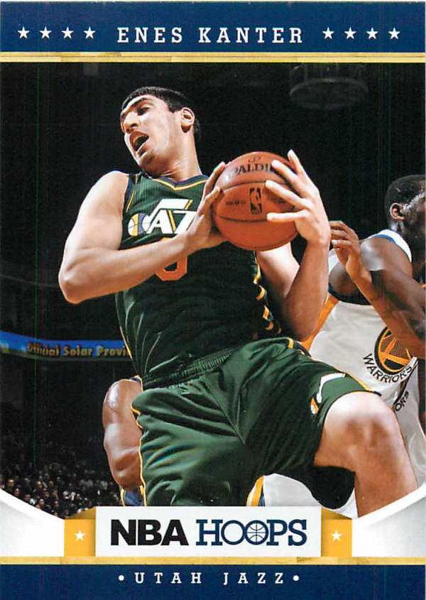 2012-13 Hoops #225 Enes Kanter RC