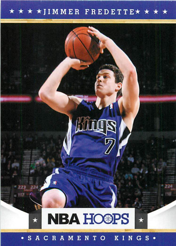 2012-13 Hoops #231 Jimmer Fredette RC