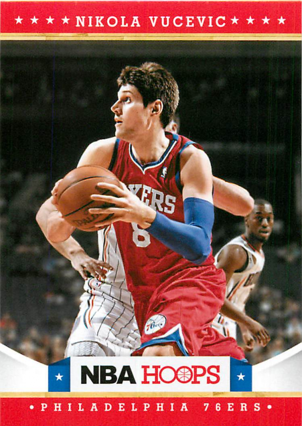 2012-13 Hoops #237 Nikola Vucevic RC