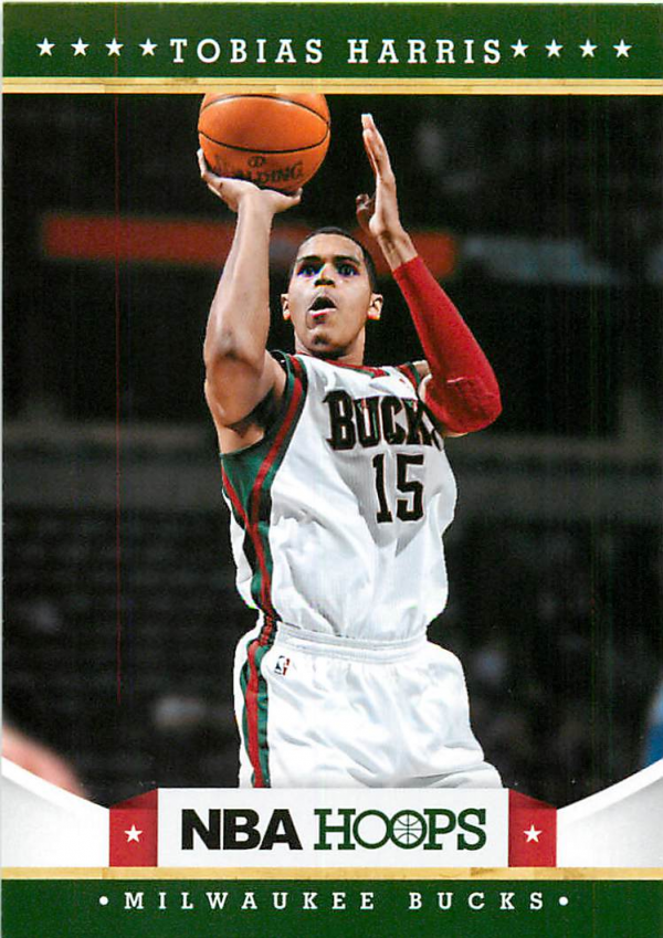 2012-13 Hoops #240 Tobias Harris RC