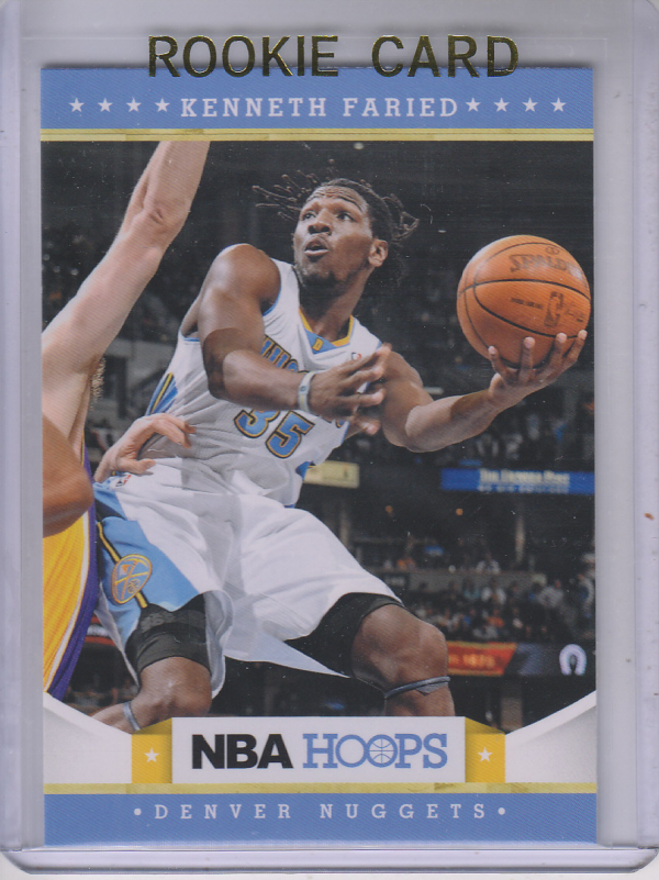 2012-13 Hoops #242 Kenneth Faried RC