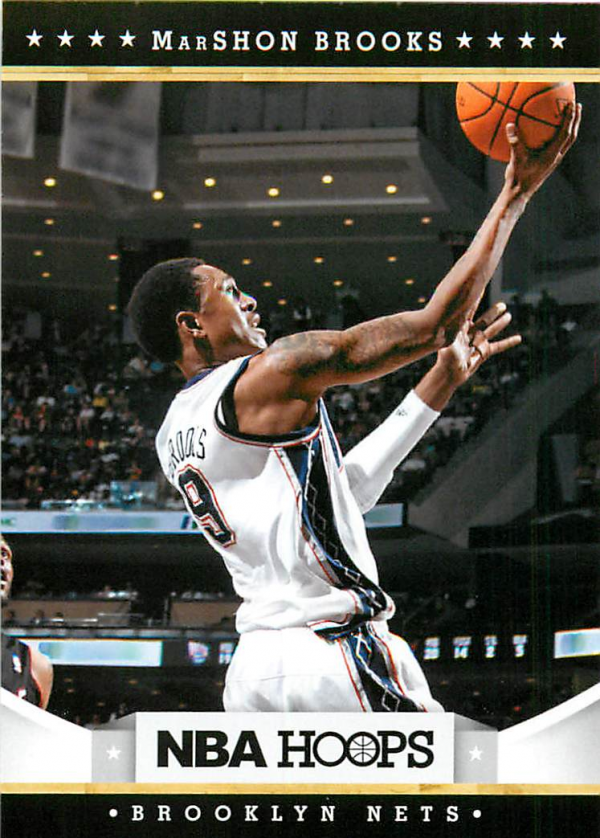 2012-13 Hoops #244 MarShon Brooks RC