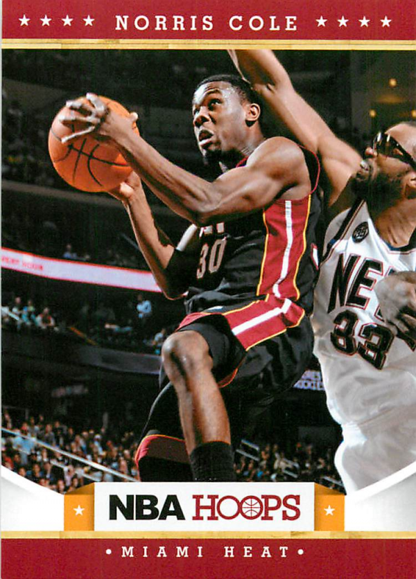 2012-13 Hoops #247 Norris Cole RC