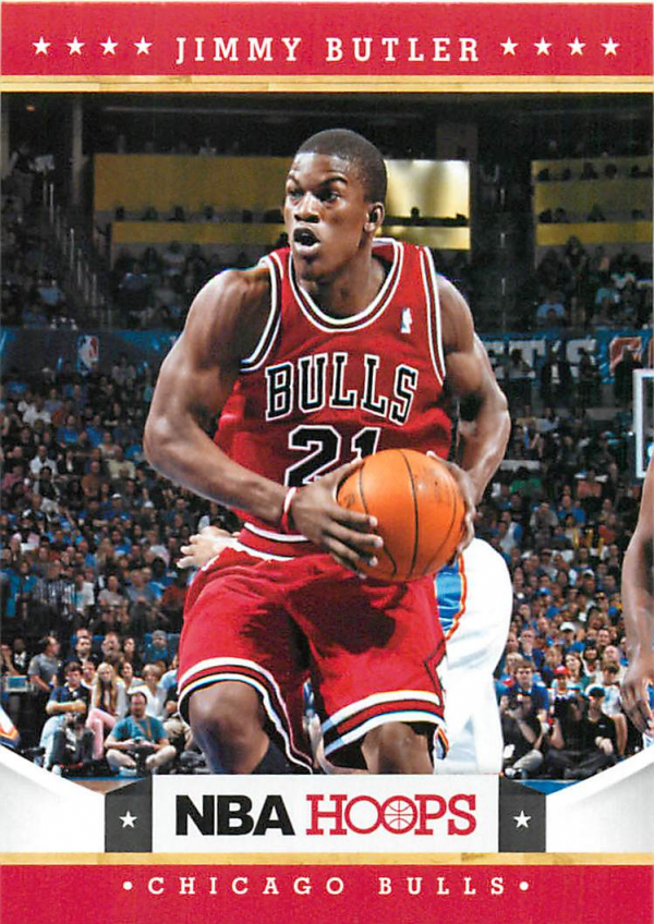 2012-13 Hoops #249 Jimmy Butler RC