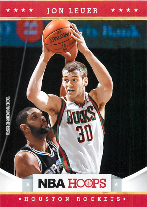 2012-13 Hoops #255 Jon Leuer RC