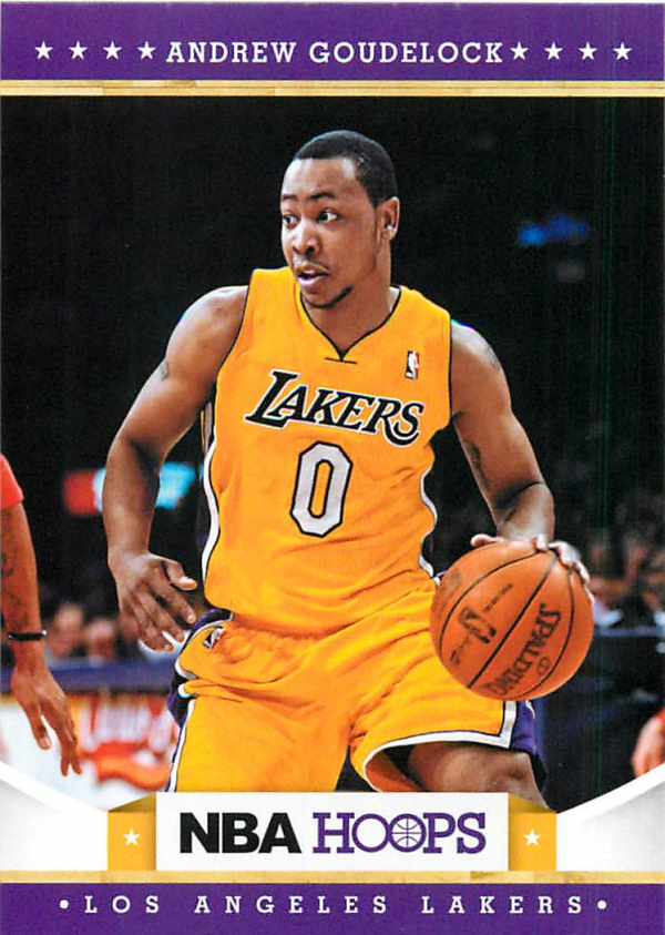 2012-13 Hoops #258 Andrew Goudelock RC