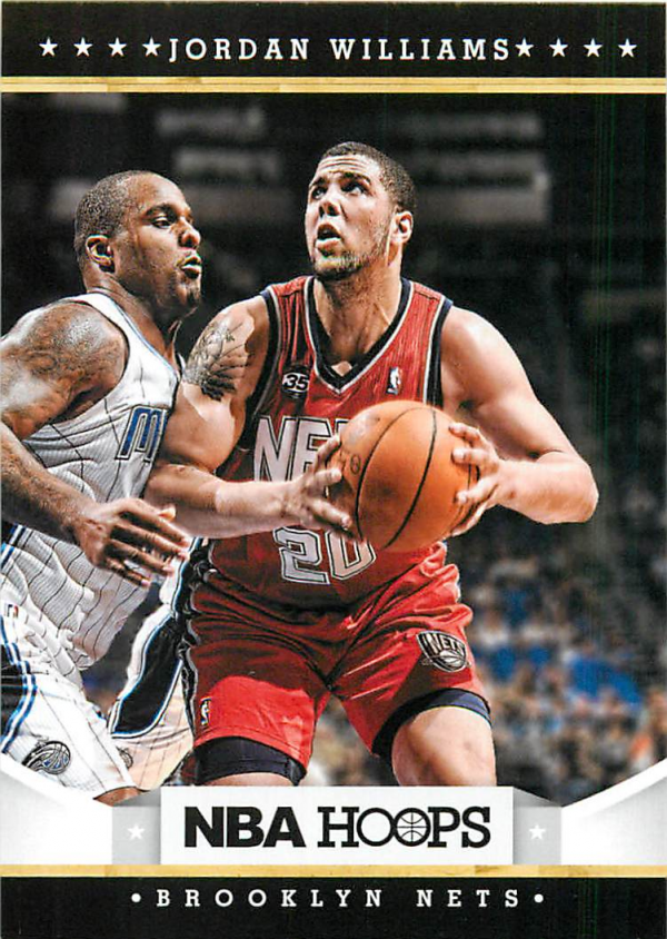 2012-13 Hoops #263 Jordan Williams RC