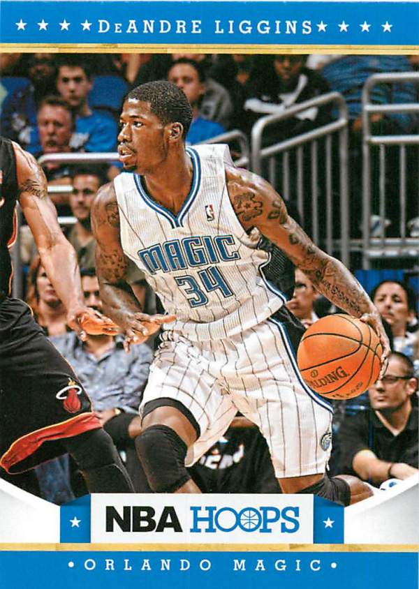 2012-13 Hoops #266 DeAndre Liggins RC