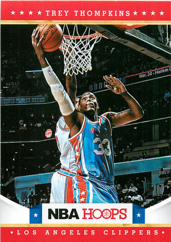 2012-13 Hoops #272 Trey Thompkins RC