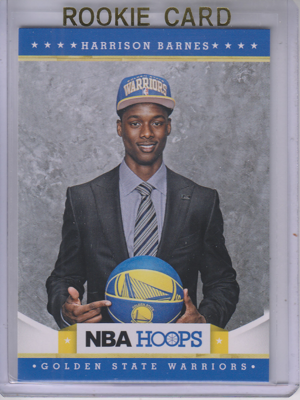 2012-13 Hoops #281 Harrison Barnes RC