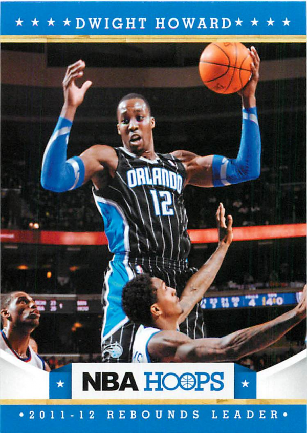 2012-13 Hoops #300 Dwight Howard