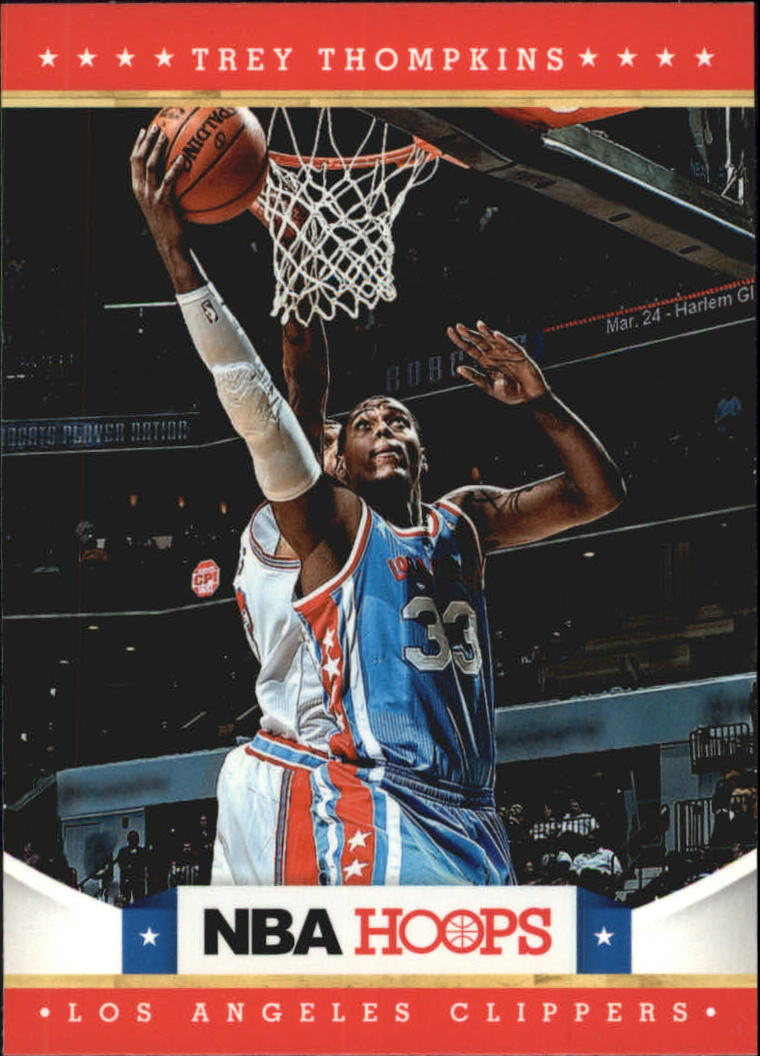 2012-13 Hoops Glossy #272 Trey Thompkins