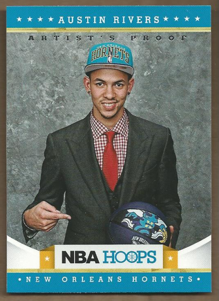 2012-13 Hoops Artist's Proofs #284 Austin Rivers
