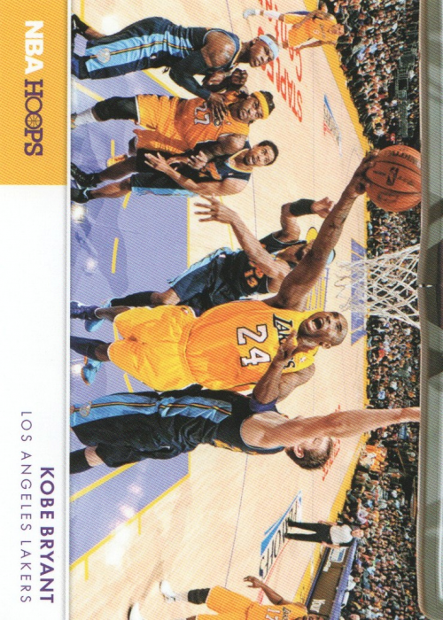 2012-13 Hoops Action Photos #1 Kobe Bryant