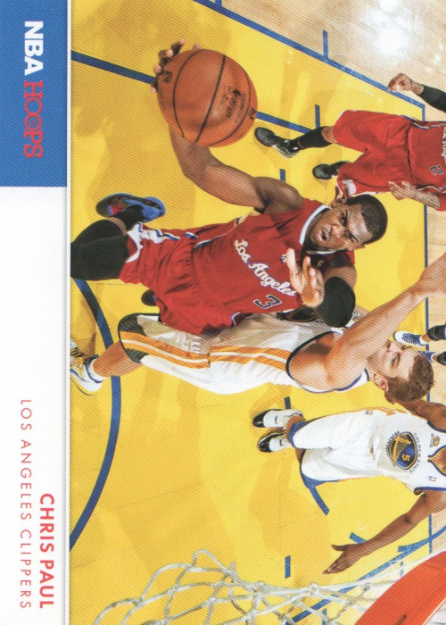 2012-13 Hoops Action Photos #8 Chris Paul