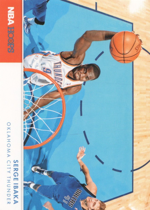 2012-13 Hoops Action Photos #17 Serge Ibaka