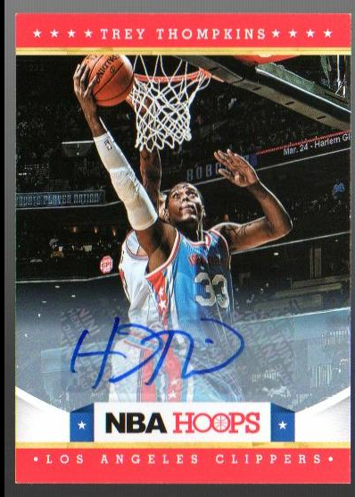 2012-13 Hoops Autographs #272 Trey Thompkins