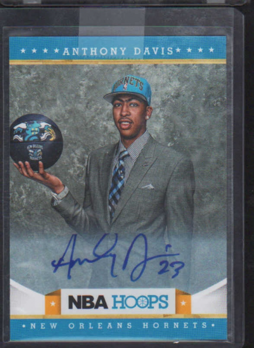 2012-13 Hoops Autographs #275 Anthony Davis